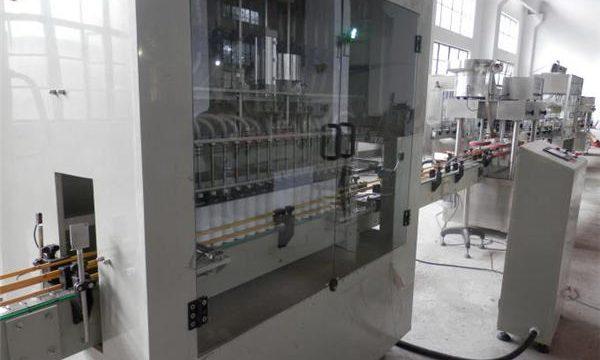 Stainless Steel nga Hingpit nga Awtomatikong Bleach Filling Machine