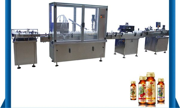 Ang China nga Supplier Awtomatikong Dagat nga Botilya nga Botelya sa Pagpuno sa Liquid
