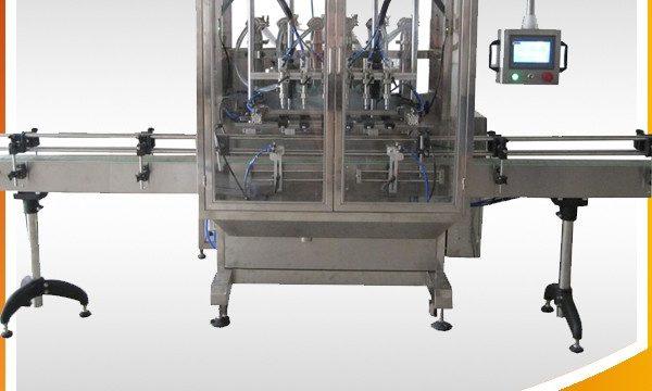 Auto Overflow Gravity Bottle Liquid Filling Machine