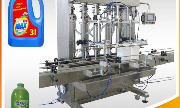 Doble-Uban nga Hingpit nga Ulo nga Hingpit nga Piston Type Liquid Filling Machine