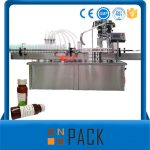 Awtomatiko nga Rotary Bottle Liquid Filling Machine Sa Pagpatak