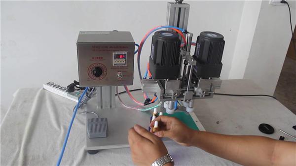 Bug-os nga Awtomatikong Pneumatic Capping Machine Manufacturer