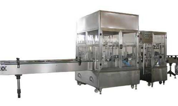 Hingpit nga Awtomatikong Liquid Soap Filling Machine Line