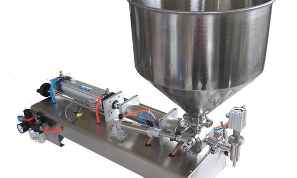 Ang Semi-Awtomatikong Piston Glass Jar Honey Filling Machine