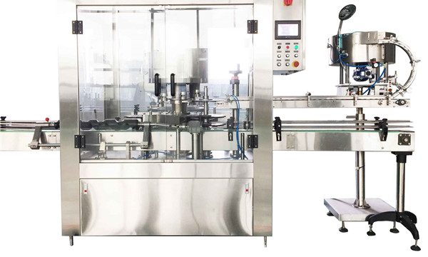 Ang Round Liquid Bottle Rotary Capping Machine