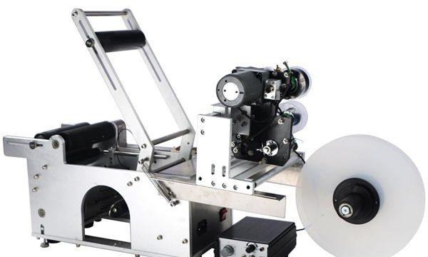Ang Semi-Automatic Round Bottle Labeling Machine