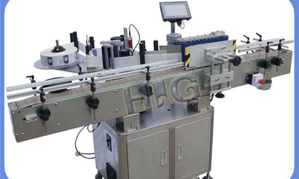 Awtomatiko nga NPACK Round Bottle Labeling Machine Manufacturing Uban ang Printer