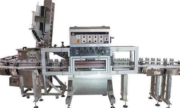 Ang Pneumatic Pump Awtomatikong Pag-init sa Sauce Filling Machine