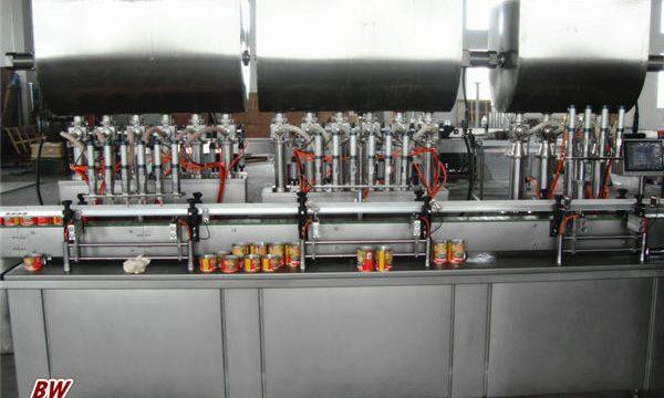 Awtomatiko nga Hot Pizza Sauce Filling Machine
