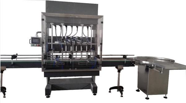 Ang Awtomatikong Bottle Bleach Filling Machine