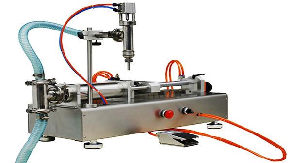 Doble nga Labi nga Pneumatic Cream Filling Machine 100-1000ml