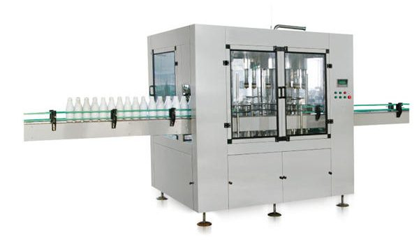 Walo-punong awtomatikong Linear Piston Liquid Soap Filling Machine