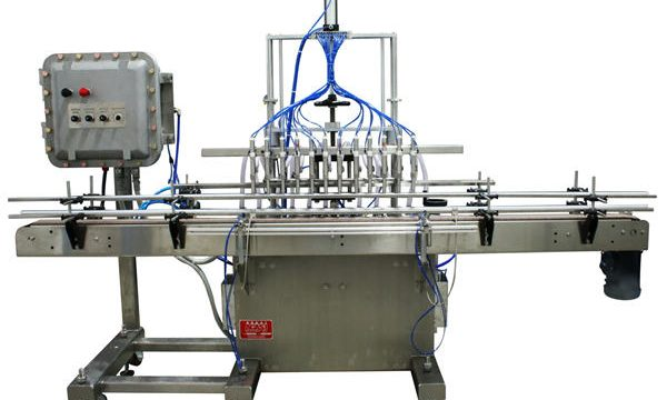 Awtomatikong Piston Liquid Filling Machine 50ml-1L
