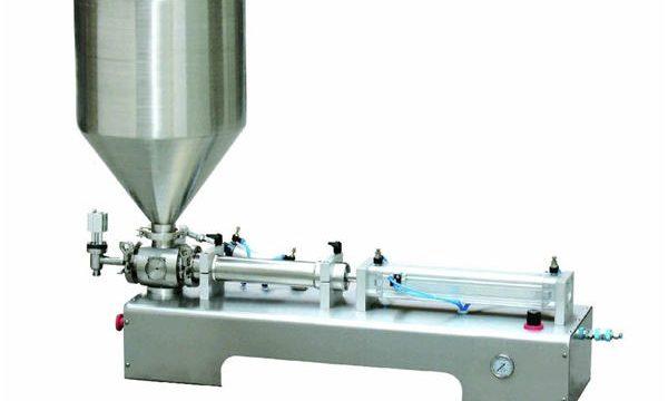 Pneumatic Piston Filling machine, Makapal nga cream Piston Filling Machine